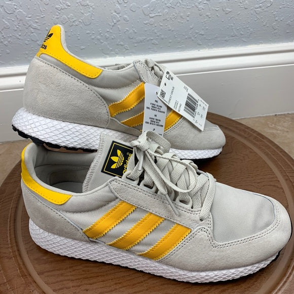 Nwt Adidas Original Forest Grove Yellow